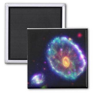 Cartwheel Galaxy 2 Inch Square Magnet