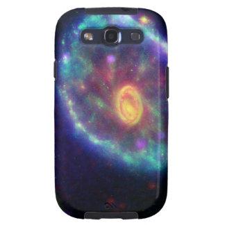 Cartwheel Galaxy by Hubble Telescope Galaxy SIII Covers