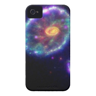 Cartwheel Galaxy iPhone 4 Covers