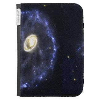 Cartwheel Galaxy Kindle Cover