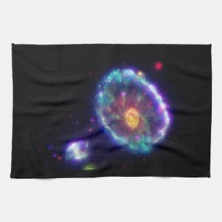 Cartwheel Galaxy Hand Towel