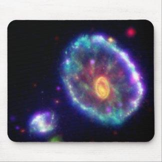 Cartwheel Galaxy Mouse Pad