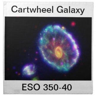 Cartwheel Galaxy Napkin