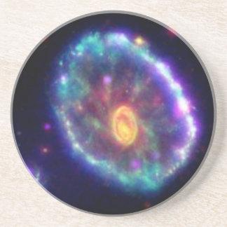 Cartwheel Galaxy Sandstone Coaster
