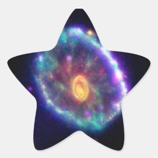 Cartwheel Galaxy Star Sticker