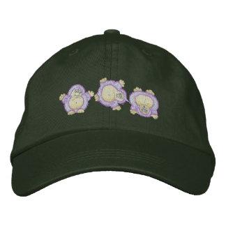 Cartwheeling Hedgehog Embroidered Baseball Hat