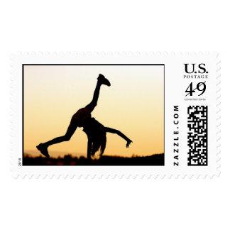 cartwheels at dusk stamps