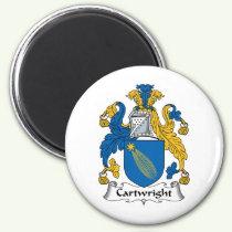 Cartwright Family Crest Magnet