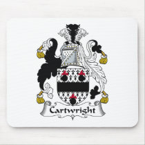 Cartwright Family Crest Mousepad