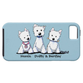 Caruso Westies iPhone 5 Covers