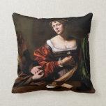 Carvaggio Art Work Throw Pillows
