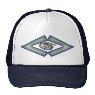 Carve integrated trucker hat
