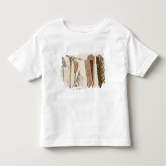 Carved and decorated Aboriginal tools, illustratio Toddler T-shirt