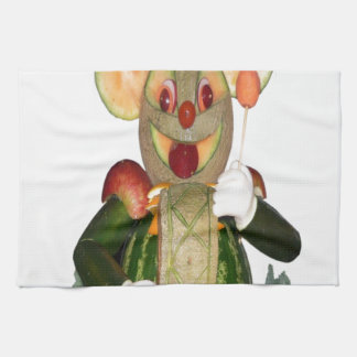 carved beasts drummer mouse hand towels
