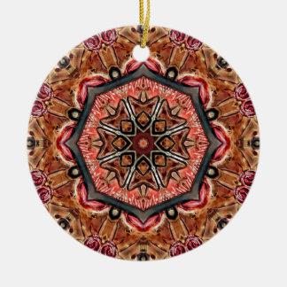 Carved Ceramic Ornament