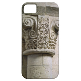 Carved column decorated with croziers and spirals iPhone 5 covers