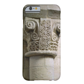 Carved column decorated with croziers and spirals iPhone 6 case