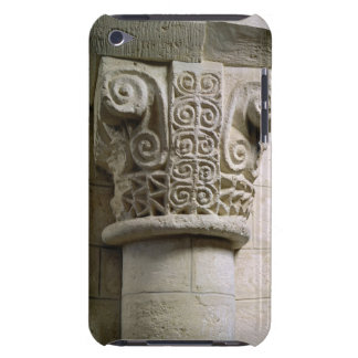 Carved column decorated with croziers and spirals iPod touch Case-Mate case