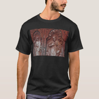 Carved doorway of church T-Shirt