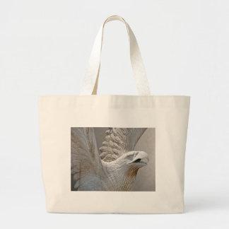 Carved Eagle Jumbo Tote Bag