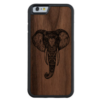 Carved Elephant Phone Case