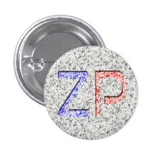 """""""Carved Granite"""" ZP Badge"""
