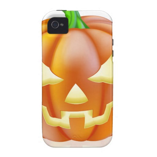 Carved Halloween Pumpkin Case For The iPhone 4