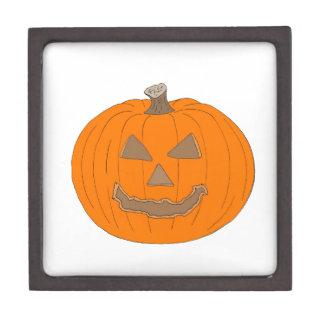 Carved Halloween Pumpkin Pop Art Image Premium Gift Boxes
