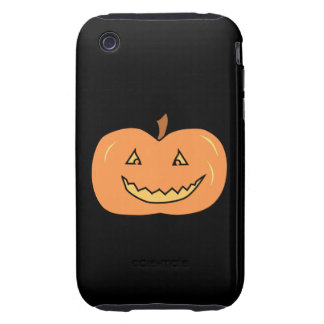 Carved Happy Pumpkin. Halloween. Tough iPhone 3 Covers