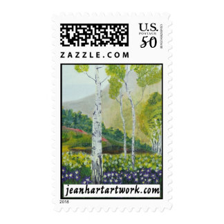 Carved In A Tree Postage