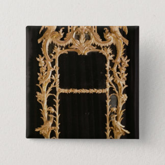 Carved mirror, c.1760 button