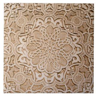 Carved Pattern Tile