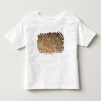 Carved petroglyph depicting figures toddler t-shirt