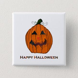 Carved Pumpkin Halloween Pin