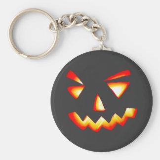Carved Pumpkin Keychain