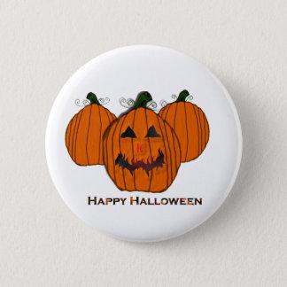 Carved Pumpkin's Halloween Pin