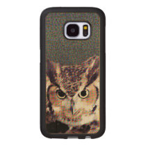 Carved® Samsung Galaxy S7 Wood Case - Owl