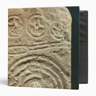 Carved Stele 3 Ring Binders