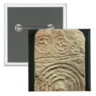 Carved Stele Button