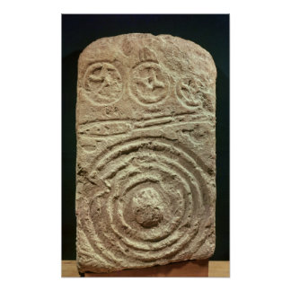 Carved Stele Posters