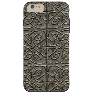 Carved Stone Connected Ovals Celtic Pattern Tough iPhone 6 Plus Case