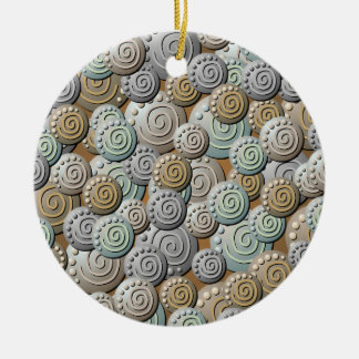 Carved Stones Pattern Ornament