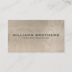 Contractor business cards zazzle carved text construction builders contractors business card colourmoves