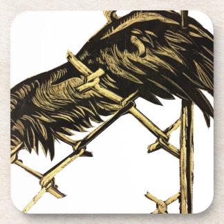 Carved Wing Beverage Coaster