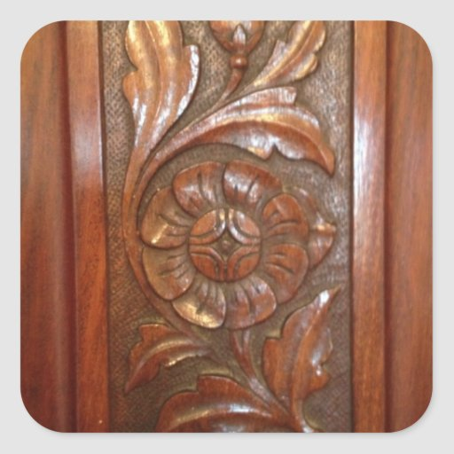 Wood carving flower patterns