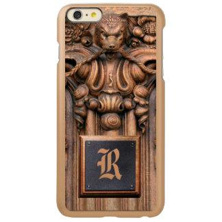 Carved Wood iPhone 6 Plus Incipio Shine Case Incipio Feather® Shine iPhone 6 Plus Case