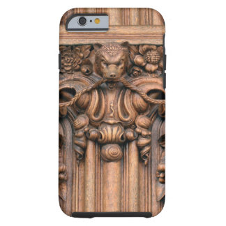 Carved Wood iPhone 6 Tough Case Tough iPhone 6 Case