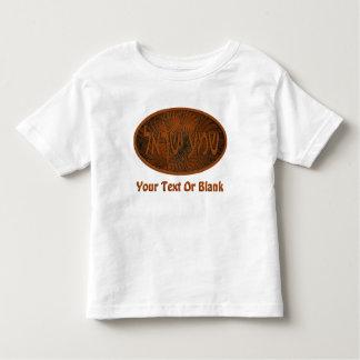 Carved Wood Shema Yisrael Toddler T-shirt