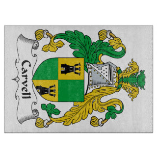 Carvell Family Crest Cutting Board