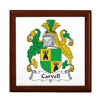 Carvell Family Crest Gift Boxes